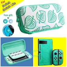 Nintendo anahtarı durumda hayvan geçişi nintendo konsolu saklama çantası nintendo anahtarı için/Lite AnimalCrossing aksesuarları