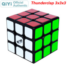QiYi Thunderclap 3x3x3 Magic Cube MoFangGe 3x3 Professional Competition Speed Puzzle Educational Toys For Children Kids Gift