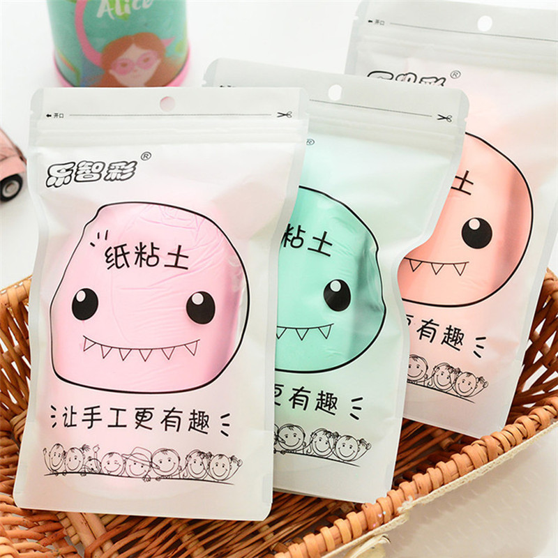 QWZ New 100g Monster Paper Clay Enough Large Volume Paper Clay Soft Paper Clay Plasticine Drawing Slime Polymer Children's Toy