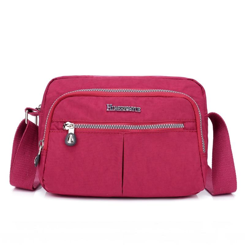Women Summer Bolsos 2019 Casual Nylon Messenger Bags Sports Style Travel Shoulder Bags Waterproof Crossbody Bags For Women Sales