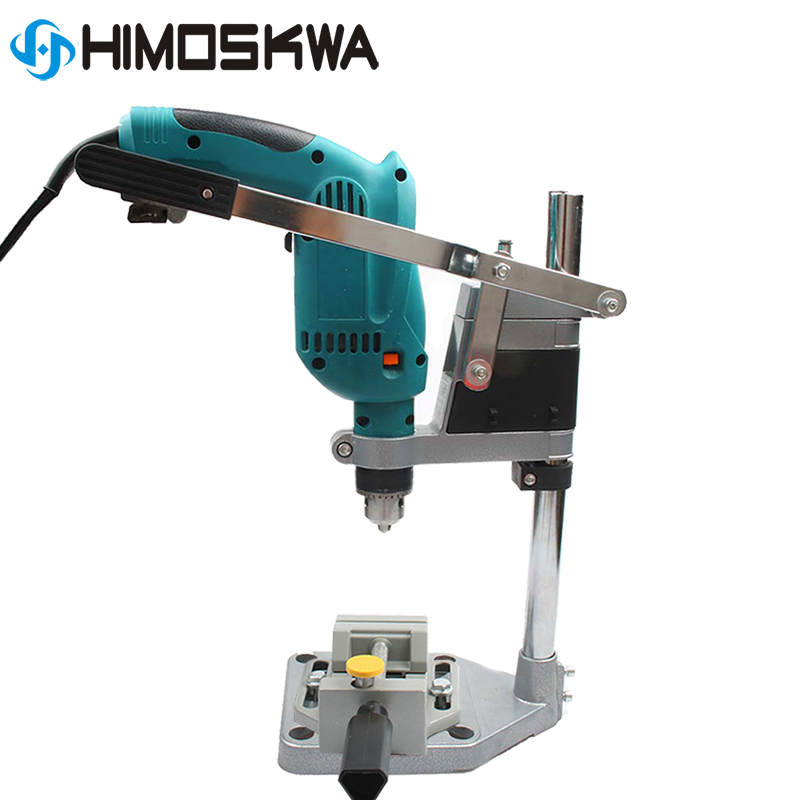 1pc-electric-drill-stand-holding-holder-bracket-single-head-rack-drill-holder-grinder-accessories-for-woodworking-rotary-tool