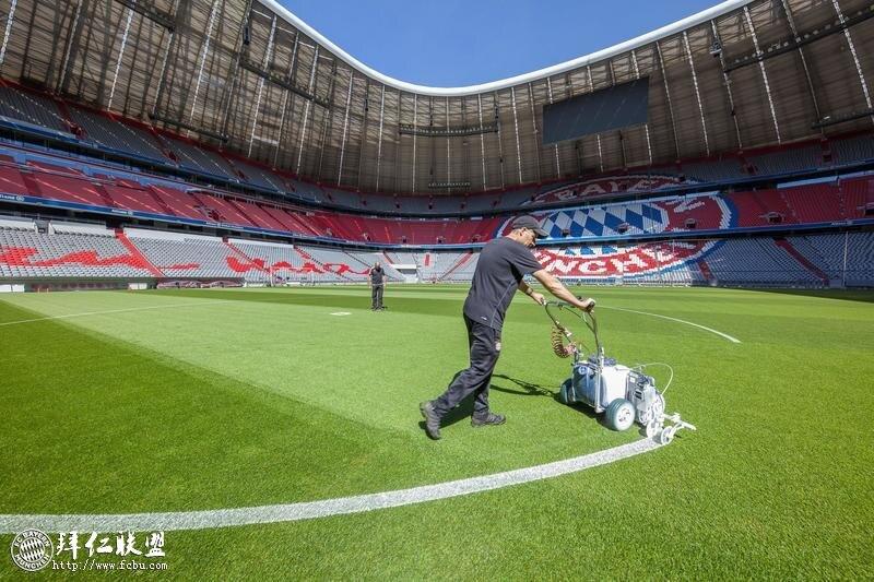 拜仁安联球场翻新迎接德甲联赛重新开始  4