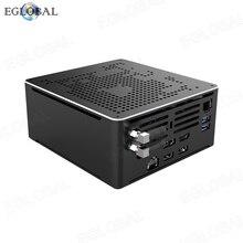 Nowy nabytek intel core i9 9880H i9 8950Hk Mini komputer do gier podwójny wentylator lan DP HDMI wyświetlacz win10 pro minikomputer MAX 64G DDR4 8 rdzeń