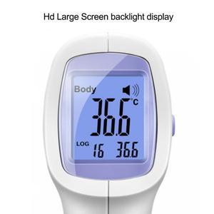 Image 5 - Цифровой инфракрасный термометр пистолет для измерения температуры тела для взрослых детей бесконтактный термометр для лба тела с подсветкой в наличии