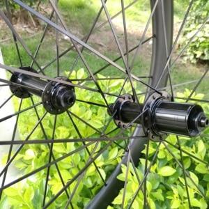 Image 2 - Ruedas de carbono de 30mm, 35mm, 38mm, 45mm, 50mm, 55mm, 60mm, 80mm, 88mm, Ruedas de bicicleta de carbono de ancho, 23/25mm, 700C, juego de ruedas de carbono para bicicleta de carretera