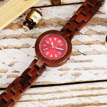 Red Sandalwood Top Brand Luxury Wood Watch
