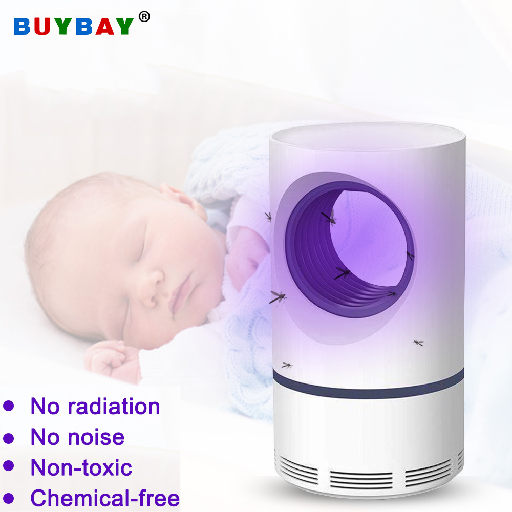 USB Photocatalytic Mosquito Killer Lamp UV Light Electric Mosquito Killer Safe Efficient Insect Killer Fly Bug Zapper Trap Lamp
