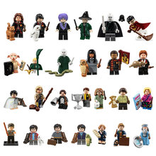 สำหรับ Harry Magic series Hermione Ron Snape Rubeus Dobby Hagrid Luna Seamus Voldemort Dumbledore อิฐบล็อกอาคารของ(China)