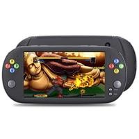 """נייד משחקי שחקנים משחק ניידות X16 נייד עבור 7.0"""" רוקר זוגי משחק ארקייד GBA NES HDMI קונסולת משחקי הווידאו מיני רטרו MP5 מסך (2)"""