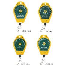 Durable Versenkbare Frühjahr Balancer Stahl Draht Seil Messung Werkzeug Haken Halter Hängen 3-5kg Montage-linie Leuchten dropshipping cheap OOTDTY NONE CN (Herkunft) Y5LD1AA802041-4