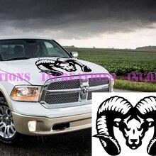 Для универсальных Hemi Dodge Ram покрытие на голову грузовик наклейка Мопар наклейки гоночная графика выбрать цвет