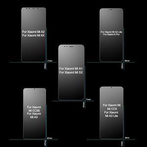 Image 4 - Cristal templado para Xiaomi Mi A1 A2 A3 Lite, Protector de pantalla 2.5D 9H HD para Xiaomi Mi A1 A2 5X 6X CC9E CC9, cristal Protector para Xiaomi Mi A1 A2 A3 Lite, cristal de seguridad