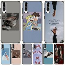 MayDaysmt Holding hands TPU Soft Silicone Phone Case Cover For Samsung A10 20 30 40 50 70 10S 20S 2 Core C8 A30S A50S holding hands