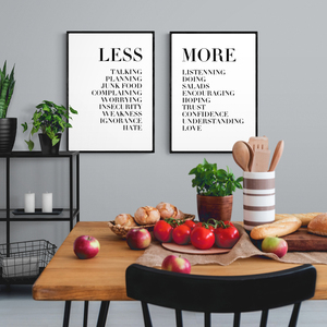 Typography Text Letters Poster