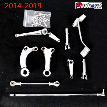 Chrome Forward Controls Linkages Fit For Harley 2014 2015 2016 2017 2018 2019 Sportster XL 883 1200