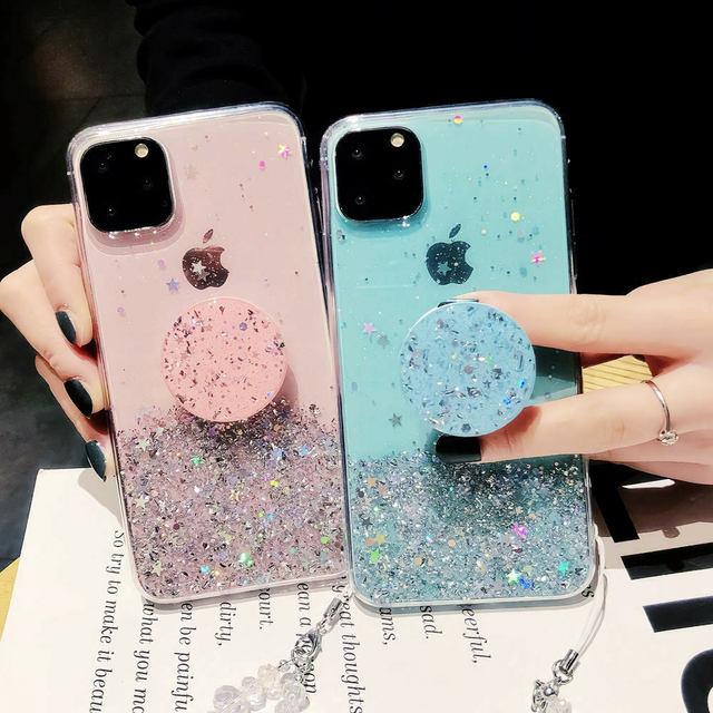 Unique Glitter Case for iPhone SE (2020) 2