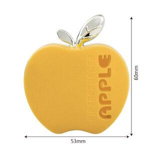 Image 4 - アップルシェイプ空気清浄香水車のための車の空気ベントエッセンシャルオイルカーディフューザーデコレーション香りのため