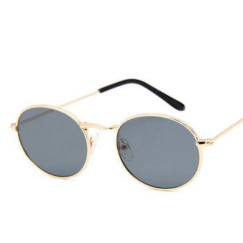 Owalne damskie okulary przeciwsłoneczne okulary luksusowe marki jasne okulary modne okulary aluminiowe okulary dla dorosłych czarne okulary tanie i dobre opinie HAIMAITONG CN (pochodzenie) WOMEN Akrylowe Dla osób dorosłych STOP NONE UV400 39mm 49mm