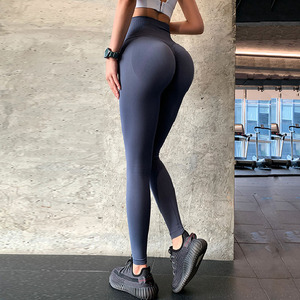 Бесшовные леггинсы с эффектом пуш ап, спортивные женские леггинсы для фитнеса, бега, штаны для йоги с высокой талией, энергетические эластичные брюки, колготки для тренажерного зала и девушек|Штаны для йоги|   | АлиЭкспресс