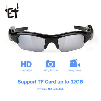 SM06 Wearable Sports Camcorder Sunglasses Camera for Cycling Running Outdoor Activities Rechargeable Sun Glasses Video Recorder