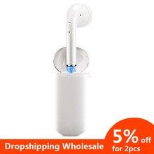 Single Bluetooth Earphone Wireless Earphones True Wireless Earbuds Charging Box Bluetooth 5.0 Hands-