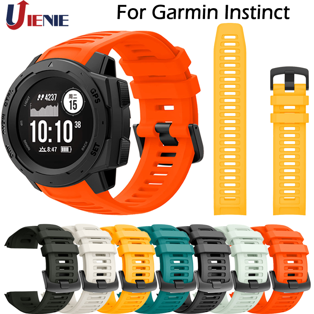 Band For Garmin Instinct Smart Watch Strap Sport Silicone Replacement Wristband Colorful Bracelet For Garmin Instinct Correa