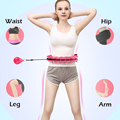 Intelligent Counting Fitness Sport Ring Smart Sport Ring Adjustable Thin Waist Hoop Fitness Equipment Home Training Droshipping