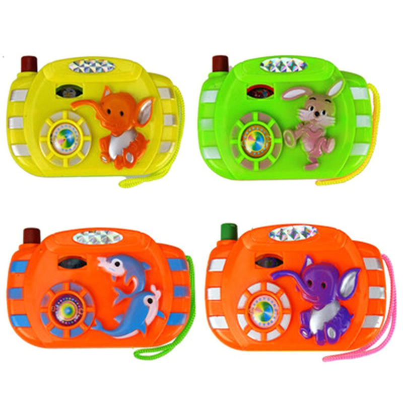 1pc Simulation Camera Kids Educational Toys For Children Baby Gifts Animals World Random Color