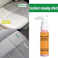 30ml Auto Leather Renovated Coating Paste Maintenance Agent  Accessories Car Wash Antifogging Agent Upholstery Cleaner 3