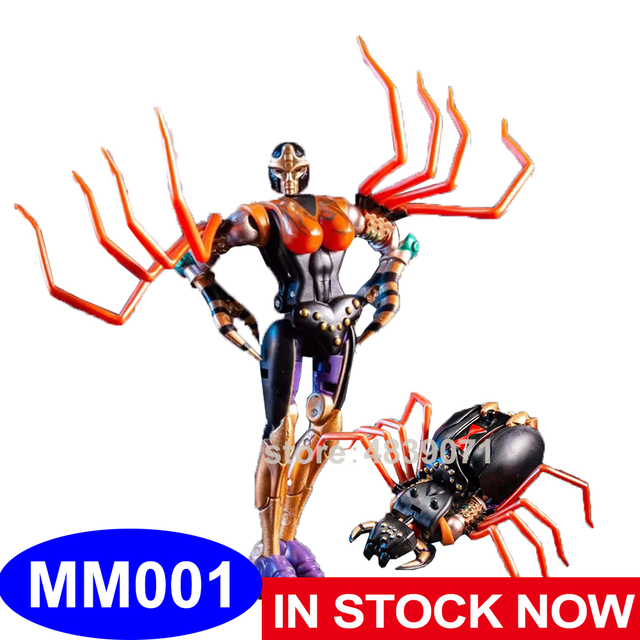 TE Action Figure Toys MM 001 MM001 Small Proportion G1 Blackarachnid Airachnid Poisonous Spider Beast Deformation Transformation