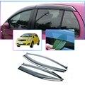 Дымчатые автомобильные оконные козырьки для TOYOTA YARIS XP90 2008-2013  защитные шторки от солнца и дождя  4 шт.