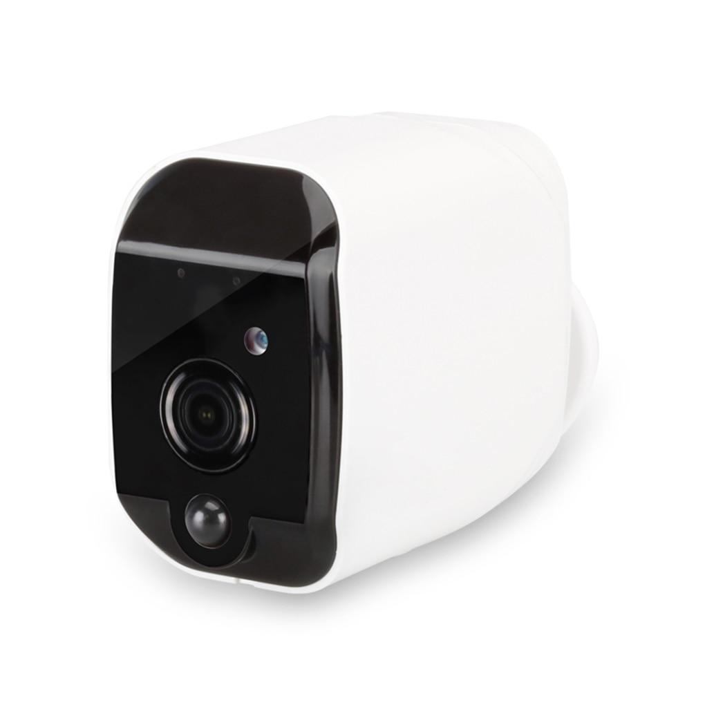 Caméra de sécurité intelligente étanche IP caméra 1080p HD batterie WiFi caméra de Surveillance sans fil PIR alarme Audio faible puissance