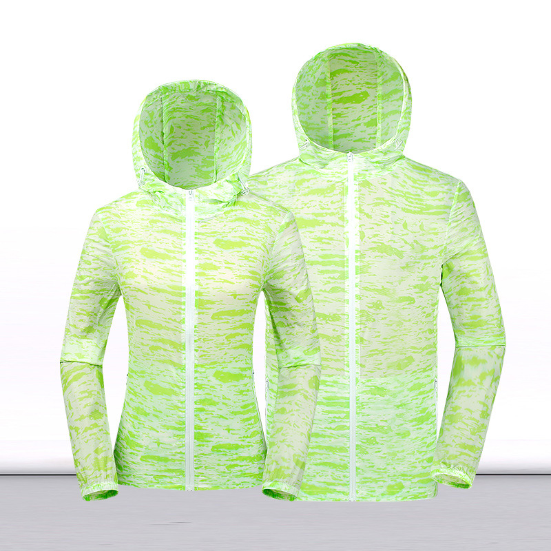 Outdoor Sun Protection Clothing Men And Women Summer Skin Windcheater Ultrathin Breathable Men Fishing Suits Light Shirt Sports