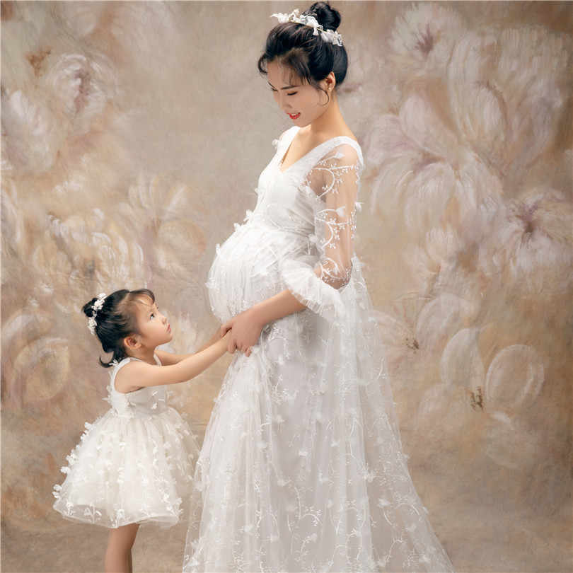 Maxi Lace Mother Daughter Matching Dress Mommy And Me Outfits Long Sleeve Maternity Gown For Photo Shoot Baby Shower Dress Aliexpress,Wedding Plus Size Semi Formal Dresses