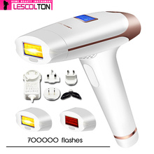 Replaceable-Lamp Hair-Removal Ipl-Epilator Lescolton Painless Women Body for of 100%Original
