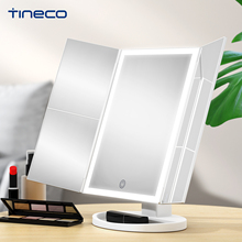 TINECO Makeup Mirror Multiple Magnification LED Light