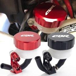 For Honda CBR650F CBR600RR CBR 650F 600RR CBR 600 RR Motorcycle Filter Fluid Rear Brake Master Cylinder Oil Reservoir Cover Cap