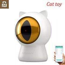 Youpin Petoneer Laser Red Dot Pet Gatos Gatos Teaser Toy Inteligente Interativo Brinquedo Companheiro Smart App Controle Inteligente Ferramenta Para Animais De Estimação