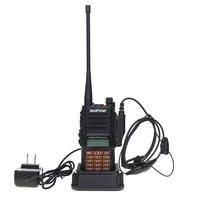 """מכשיר הקשר שני איכות גבוהה Baofeng UV-9R פלוס מכשיר הקשר IP68 8W Waterproof 10 ק""""מ טווח Dual Band UHF VHF שני הדרך רדיו Comunicador סורק (3)"""