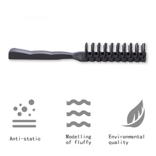 Hairbrush Curling Hair Comb Hairdressing Hair Brush Comb Salon Round  Heat Resistant Hairbrushes Styling Accessories все цены