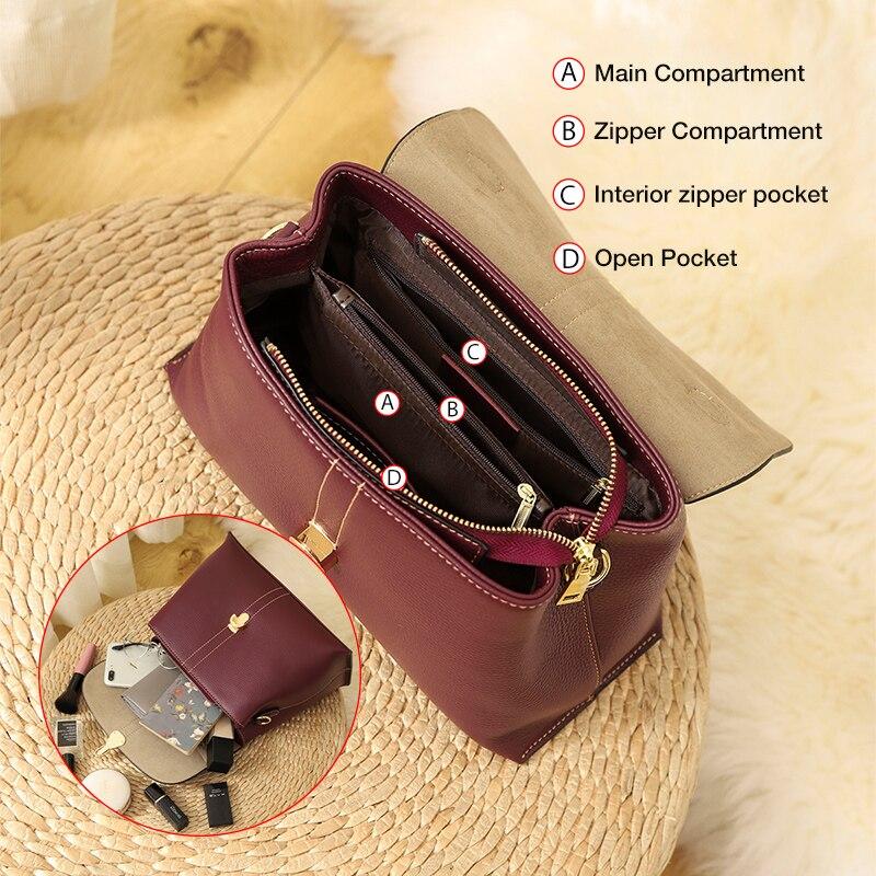 Foxer Gimpy Women Leather Shoulder Bags