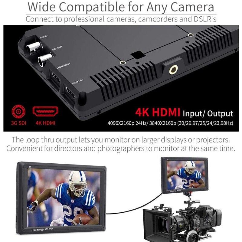 dslr câmera campo monitor completo hd 1920x1200