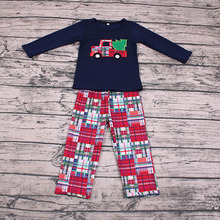 Children Boys & Girls Clothes Sets, Baby Infant Christmas Kids Clothing Set, Autumn Baby Clothes + Pants Outfits недорого