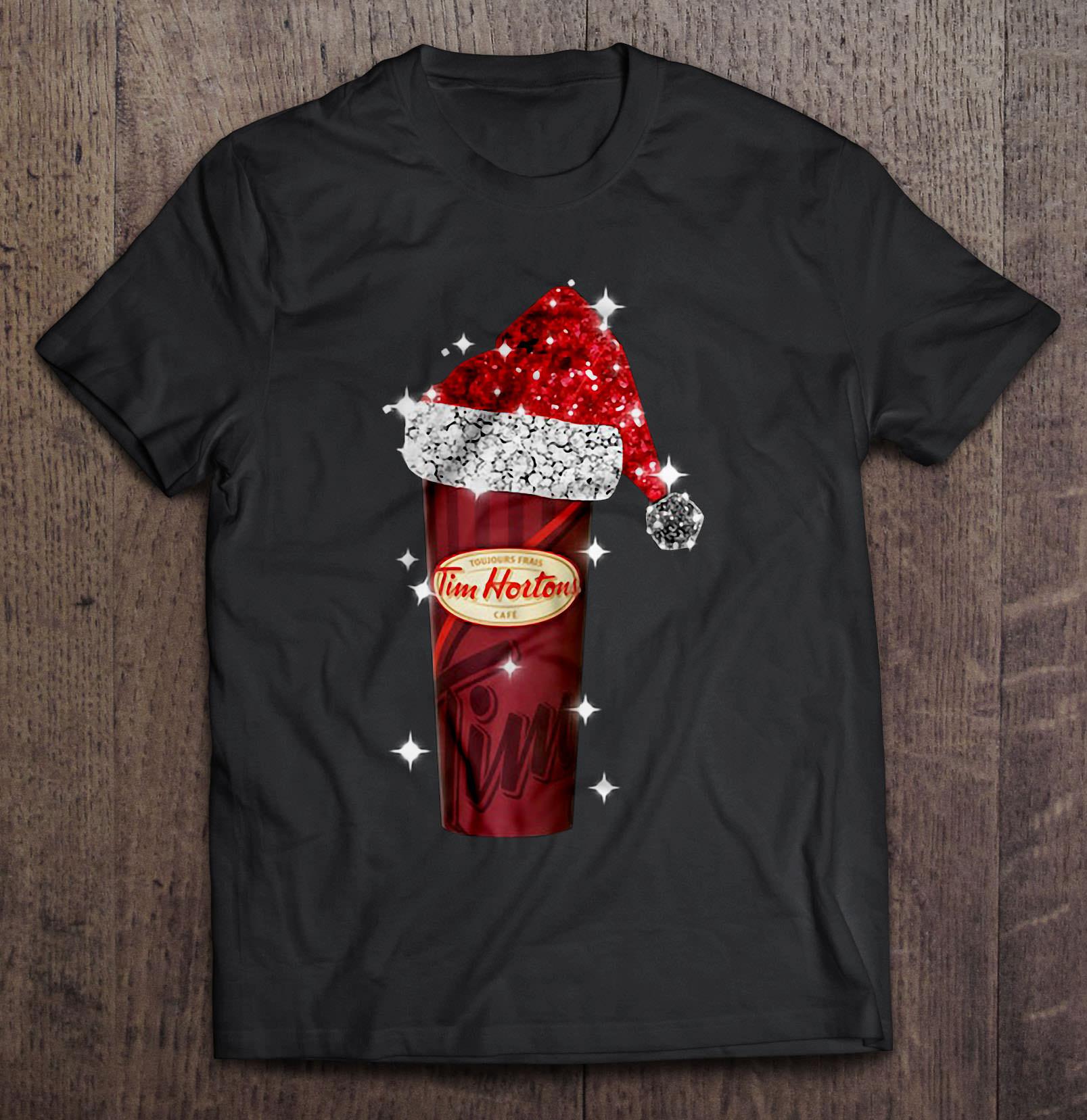 Tim Hortons Santa Christmas T-Shirts