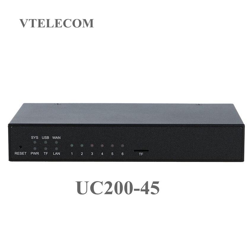 Новое поступление IP АТС устройство Звездочка Мини IP АТС, 220 пользователей голосовая почта, запись звонков с FXO FXS