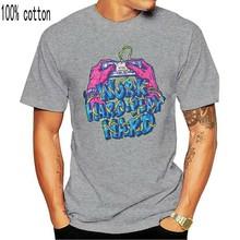 Aolamegs-camiseta de algodón para hombres, Camisa estampada de Hip-Hop, 100%