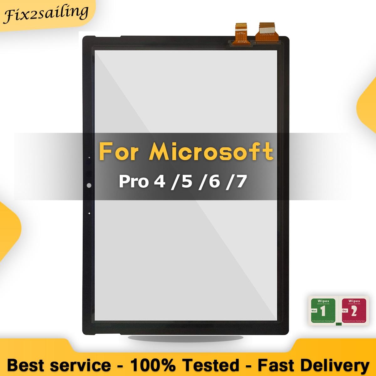 Высококачественный сенсорный экран с цифровым преобразователем для Microsoft Surface Pro 4 Pro 5 Pro 6 Pro 7 1724 1796 1807 1866