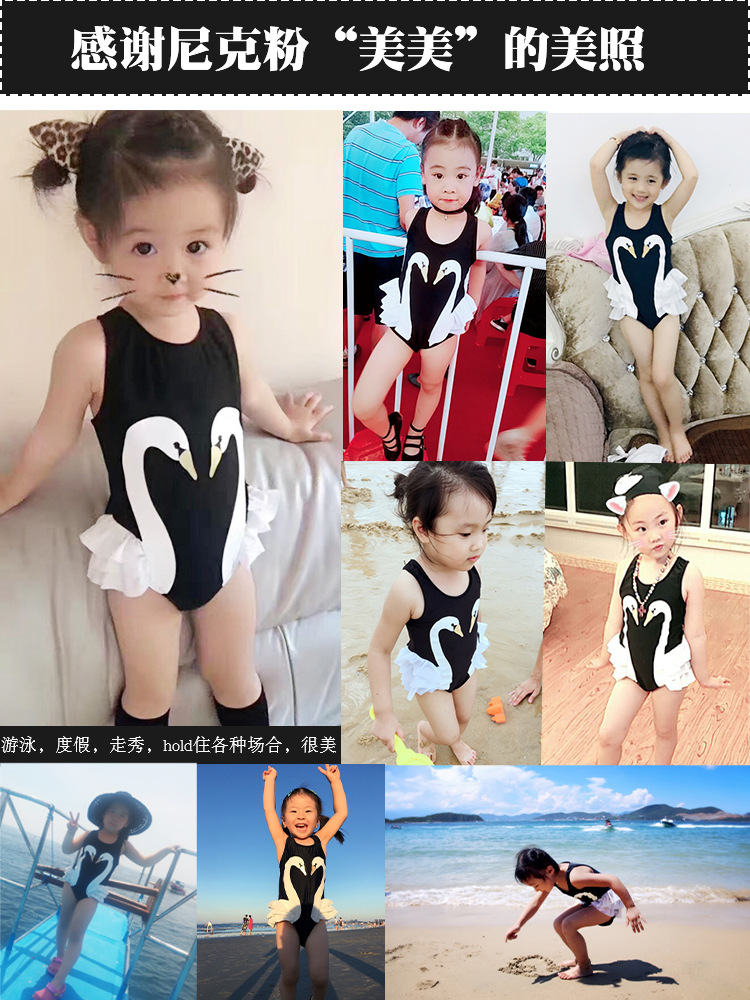 Bikini Baby Infants GIRL'S Siamese Swimsuit Class A GIRL'S Swimsuit Small CHILDREN'S 1-2-8-9-Year-Old 3 Swimwear