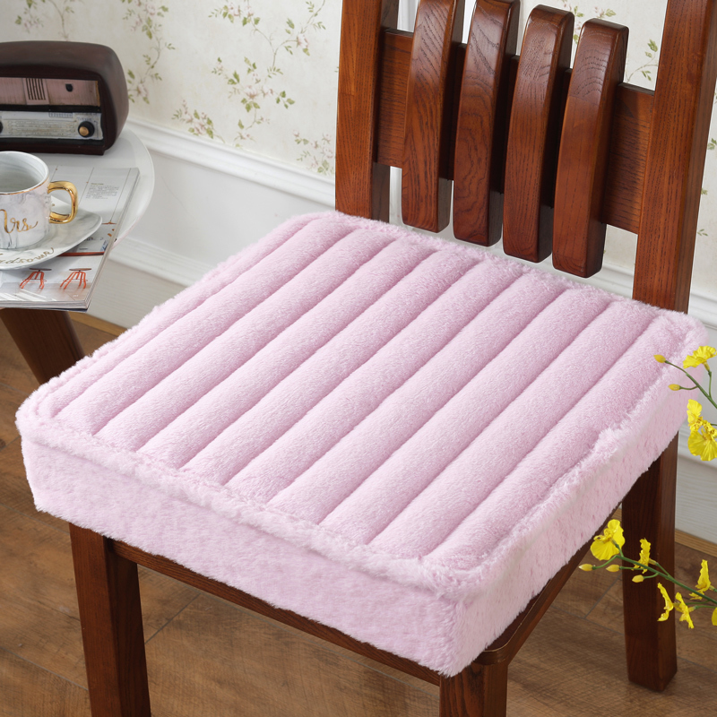 40*40cm Thicken Popular Chair Cushion Home Decoration Anti-slip Seat Cushion Super Soft Throw Pillow Back Cushion Solid Color