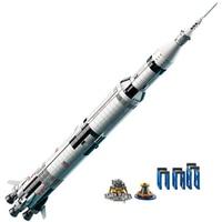 1969Pcs Creative Series fit legolys idea The Apollo Saturn V Launch Vehicle Set Children Educational Building Blocks Bricks Toy
